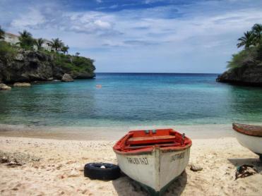 Playa Lagun, our home beach.