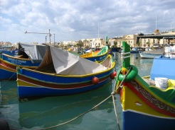 The Bay of Marsaxlokk