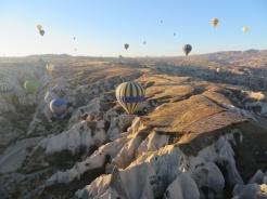Up we go in Cappadocia 10