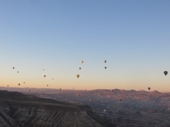 Up we go in Cappadocia 13