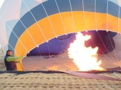 Up we go in Cappadocia 2