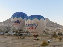 Up we go in Cappadocia 5