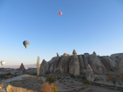 Up we go in Cappadocia 7