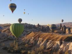 Up we go in Cappadocia 8