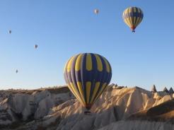Up we go in Cappadocia 9