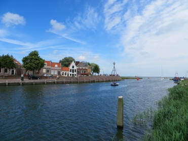 The inlet to Medemblik