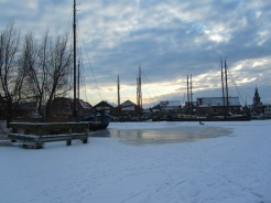 Monnickendam in the winter