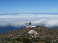 The Observatory was even higher than the clouds