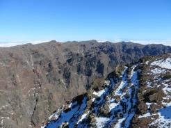 Looking into the Caldera de Taburiente from Roque de los Muchachos