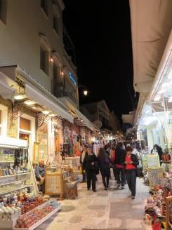 Tinos market street