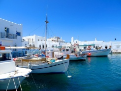 Naousa, Paros. Our favourite town.