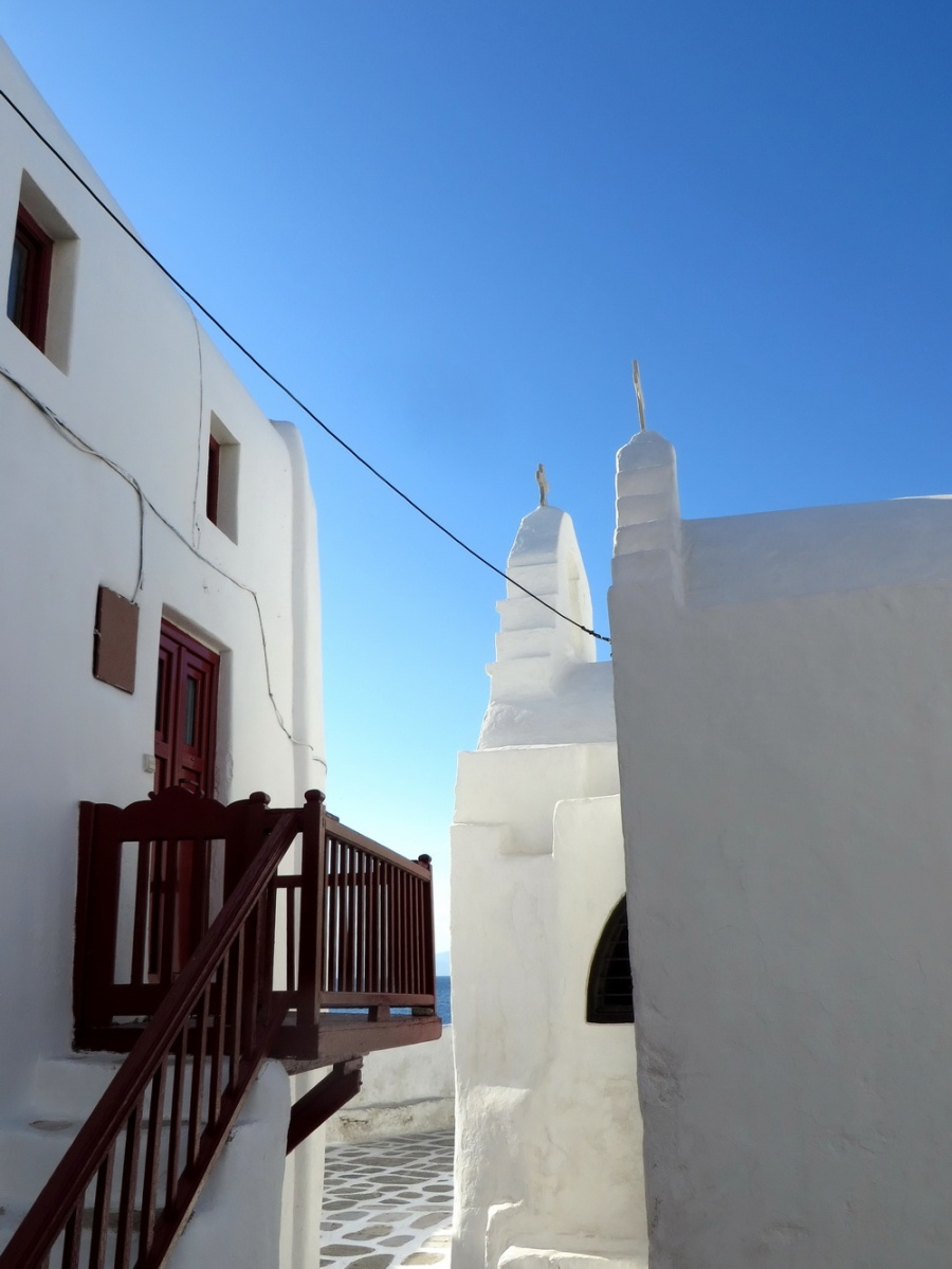 Our Greek sailing adventure. Part 2: Paros - Naxos - Mykonos