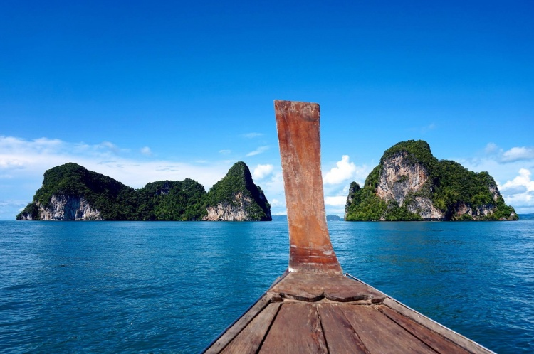 Krabi - Long tailed boat