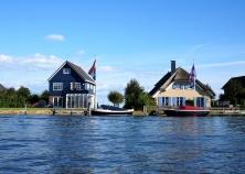 Houses along Johan Friso canal