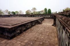 An intact terrace