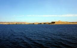 Gozo on the horizon