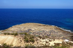 Salt pans of Xwejni Bay